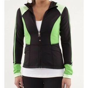 Lululemon black color block surf jacket